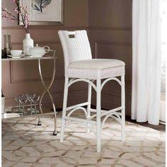 Safavieh Fremont 36 inch Barstool, Multiple Colors, White