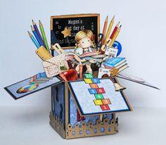Magnolia Tilda. Starting School Card in a Box.