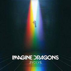 Imagine Dragons - Mouth Of The River (Evolve) Dragons Of The River Evolve Imagine Dragons, Imagine Dragons Thunder, Believer Imagine Dragons, Iconic Album Covers, Cool Album Covers, Music Album Covers, Rock Indé, Pop Rock, Dan Reynolds