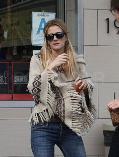 Cool and casual: Drew Barrymore in Closed!