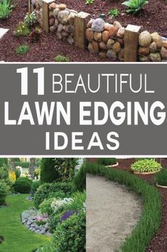 11 Beautiful Lawn Edging ideas for your yard!