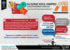 56 Surat Kecil HIMPRO IPB untuk Pendidikan Indonesia #IDEA2014