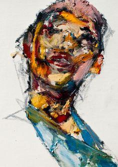 """Saatchi Online Artist: Jaeyeol Han; Oil, 2012, Painting """"Passersby, Boy, March"""""""