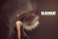Dramatic creative photoshoot #blackkatphotography