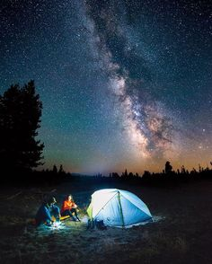 Happy campers☺️ Make sure you take a moment to appreciate the sky tonight! The last super moon for decades is rising, along with the start of the Geminid meteor shower! Snap by @travisburkephotography from a summer time 20 mile backpacking trip in Wyoming.⛺️ - @optcorp @keen @mizulife