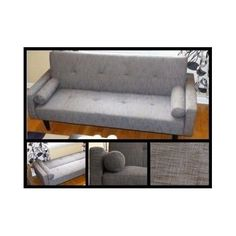 Loveseat Sleeper Sofa Living Room Sectional Futon Bed Couch Lounger  Furniture