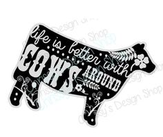 Cow SVG, farmer svg file or eps. Farming print and cut, svg file. Perfect for vinyl crafting or print and cut. File is backgroud outline