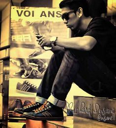 "Richard ""Insane"" Latunusa Indonesian Streetball Godfather wearing Volans Lifestyle Shoes"