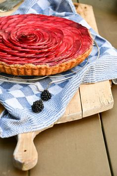 Apple and Blackberry Tart | A Dutchie Baking