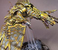 James Wappel Miniature Painting: The Hellish Hell Drake