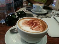 Coffee moment captured..