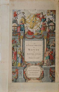 Nouveau Theatre du Monde ou Nouvel Atlas, via Flickr.