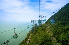 Cable Cars from Ocean Park in Hong kong