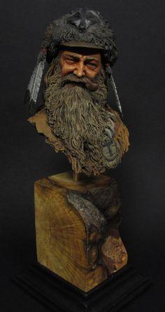 Figures: Mountain man, photo #2