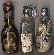 altered bottles - Google Search