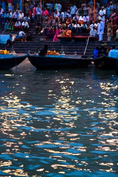 Ganges  Boats - Varanasi, India