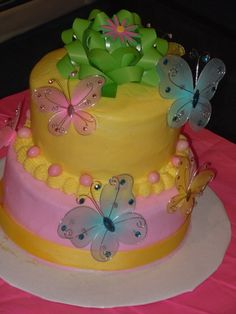 Spring cake http://media-cache2.pinterest.com/upload/563018673500450_so1fOQEe_f.jpg friendbuddy my cakes