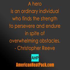 What is a hero? #arthritis #fibromyalgia #pain #fibro #health #americanheatpack
