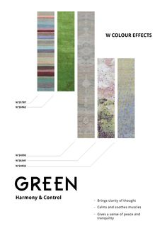 "W Colour Effects: Kermit says ""Its not easy being green""  Would you use green in your space?"