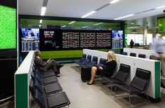 First Bloomberg Hub  at London City Airport