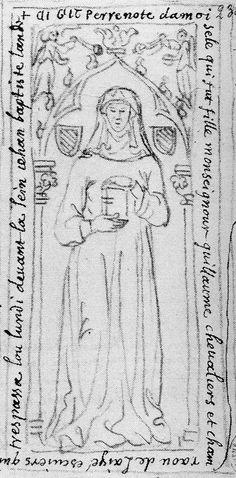Perrenote de Layé (1307). La Madeleine, Layé, Hautes-Alpes, France.