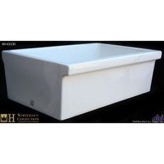 whitehaus whq530 single bowl fireclay 30 farmhouse apron kitchen sink apron kitchen sink kitchen sinks alcove