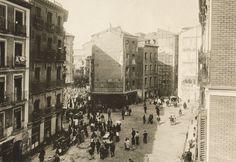 Plaza de Cascorro, 1912. Anónimo. Museo Municipal (Madrid)