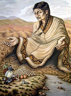 pachamama-mother earth-ayahuasca in peru Gaia, Virgin Mary Art, Spiritual Images, Esoteric Art, African History, Gods And Goddesses, Religious Art, Native American Indians, Images Gif