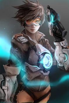 Overwatch : Tracer by Lien-Tsu.deviantart.com on @DeviantArt