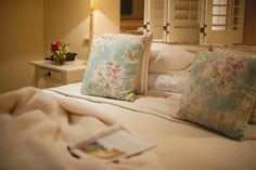 Comfortable winter bed at The Last Word Constantia