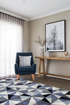 S-Fold Curtain in Zepel Allusion – Silver Eclectic Furniture, Home Furniture, Furniture Design, Home Living, My Living Room, Curtain Inspiration, Beach Chair With Canopy, Farmhouse Table Chairs, Scandinavian Interior