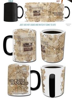 Harry Potter Mug – Maurauder's Map #ingenious #present