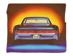 "1966 Buick Full Color Photo Blanket 50x60"" – GMPhotoGifts.com"