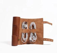 Cordito leather cord wrap.