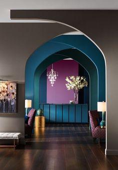 Best Amazing Color Harmony Design Ideas for Home Interior Home Design, Home Interior Design, Interior Architecture, Interior And Exterior, Interior Decorating, Color Interior, Interior Design Color Schemes, Interior Design Photography, Colorful Interior Design