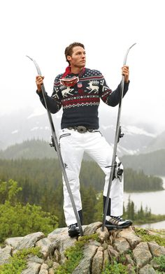 Whether you're cross-country skiing or racing down the mountain, RLX's technical gear is designed for performance