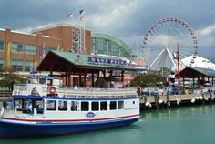 Rode the Ferris Wheel at Navy Pier, Chicago