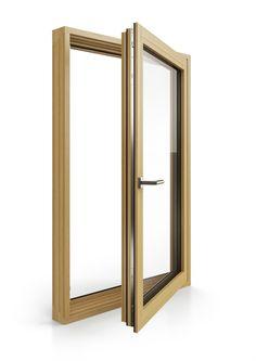 dřevěné okno BLOCK | wood window BLOCK