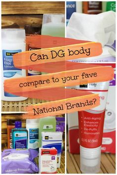 How do DG Body products stack up against their national brand counterparts? I took the challenge to find out! Check out my results! #ad @mydollargeneral