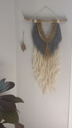 "Macrame Wall Hanging - ""Holiday"""