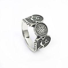 Viking Plain Ring (C-4041) - Viking Jewelry Seems a tad too busy...