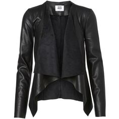 Smarten up your work attire or your everyday looks with women's blazers from VERO MODA. Shop now women's blazers here! Black Leather Blazer, Black Fitted Blazer, Cute Jackets, Jackets For Women, Short Black Jacket, Short Leather Jacket, Leather Jackets, Pu Jacket, Sweatshirts