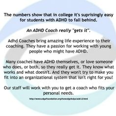 ADHD Coaches can help you succeed