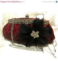 c23b1f10a1ad Items similar to Wedding clutch