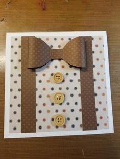 Birthday Card Diy For Men Father 26 Best Ideas - Basteln Cards For Men Handmade, Diy For Men, Handmade Birthday Cards, Greeting Cards Handmade, Diy Birthday, Fathers Day Cards Handmade, Birthday Cards For Brother, Happy Birthday Cards, Mens Birthday Cards