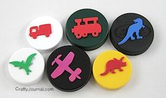 How to Make Plastic Lid Stamps