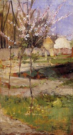 File:Agghazy Gyula-Apple Trees Blooming.jpg