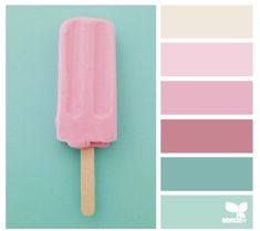 summer chill color palette from Design Seeds