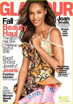 October 2016 cover with Joan Smalls