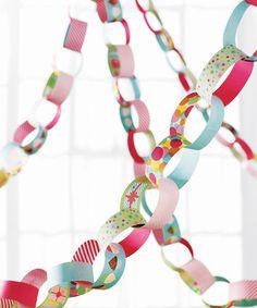 Martha Stewart Crafts Modern Festive Paper Chain Kit